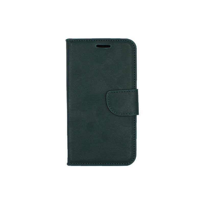 Θήκη Samsung Galaxy J5 πορτοφόλι πράσινο 1