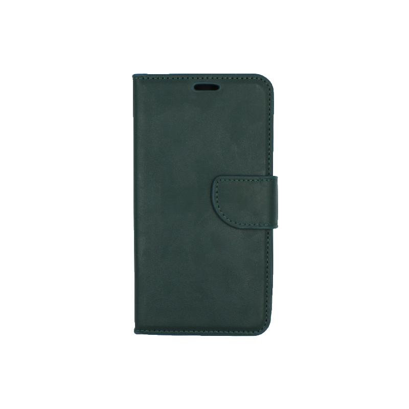 Θήκη Samsung Galaxy J5 2016 πορτοφόλι πράσινο 1