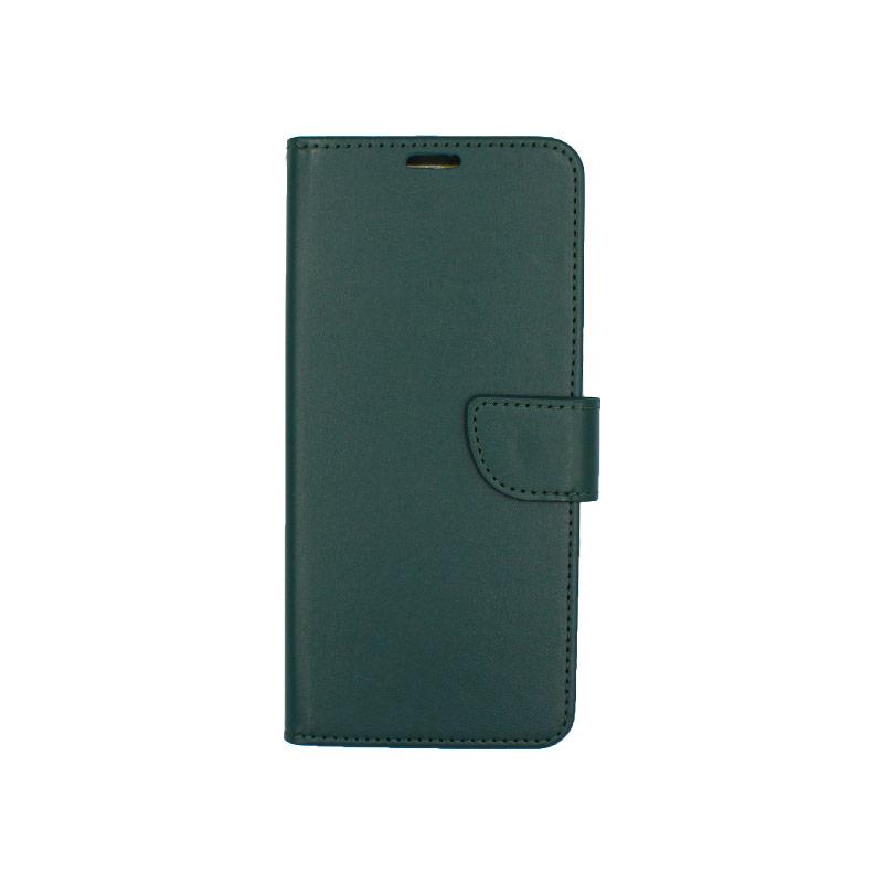 Θήκη Samsung A81 / Note 10 Lite Wallet πράσινο 1