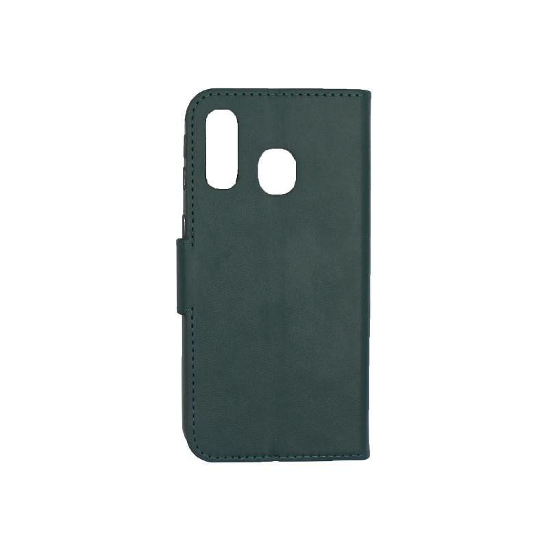 Θήκη Samsung Galaxy A40 Wallet πράσινο 2