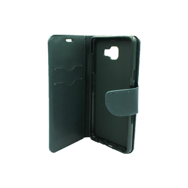 Θήκη Samsung Galaxy Α5 2016 Wallet πράσινο 3