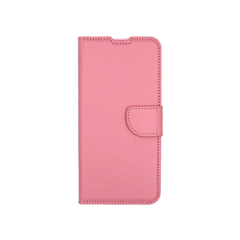 Θήκη Samsung Galaxy A70 / Α70S Wallet ροζ 1
