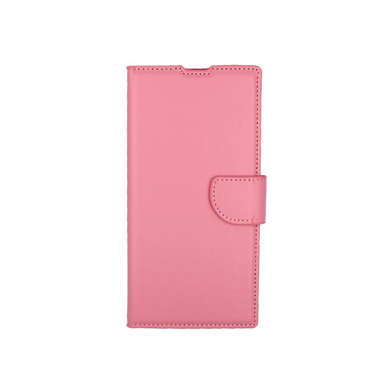 Θήκη Samsung Galaxy Note 10 Plus πορτοφόλι ροζ 1
