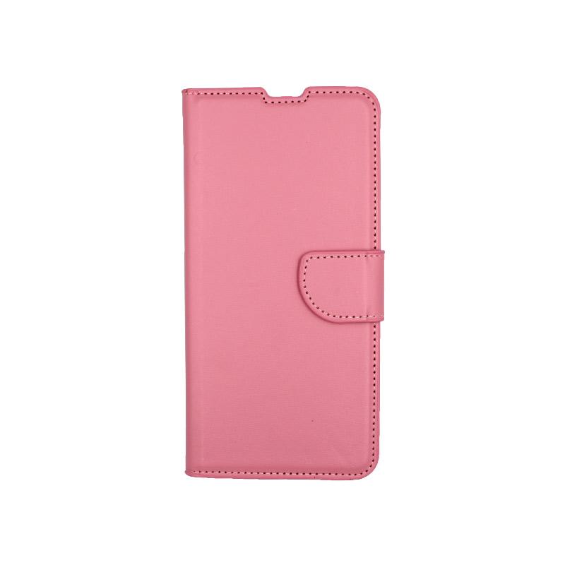 Θήκη Samsung Galaxy A80 / Α90 Wallet ροζ 1