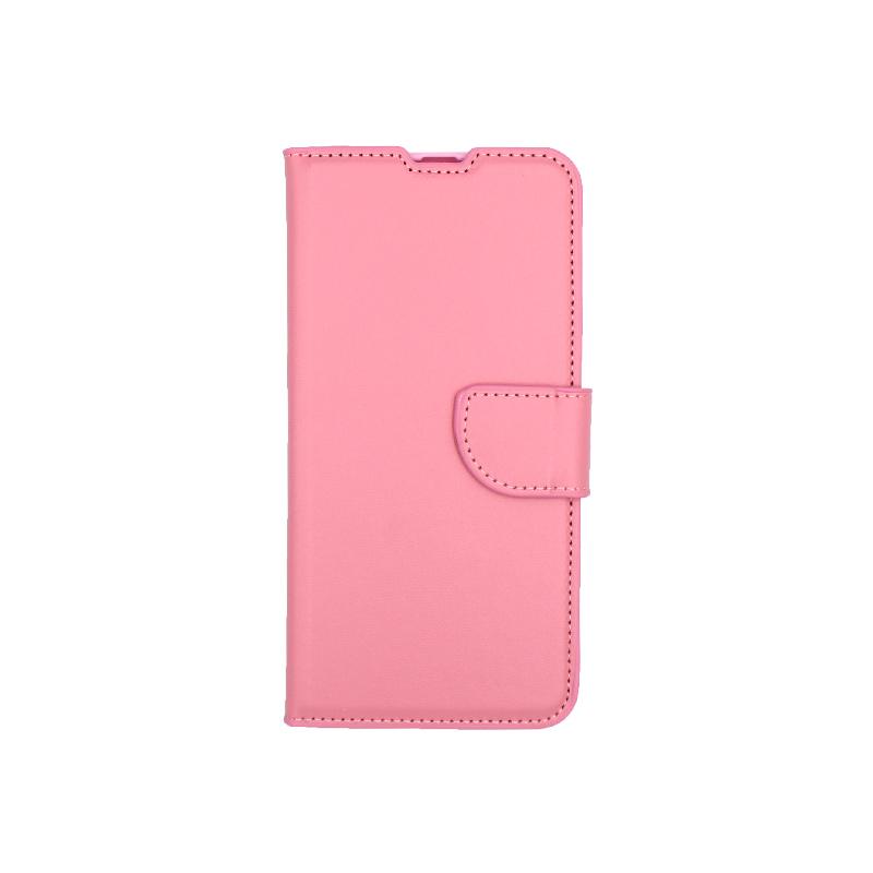 Θήκη Samsung Galaxy A20 / Α30 Wallet ροζ 1