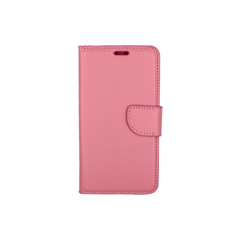 Θήκη Samsung Galaxy J5 2016 πορτοφόλι ροζ 1