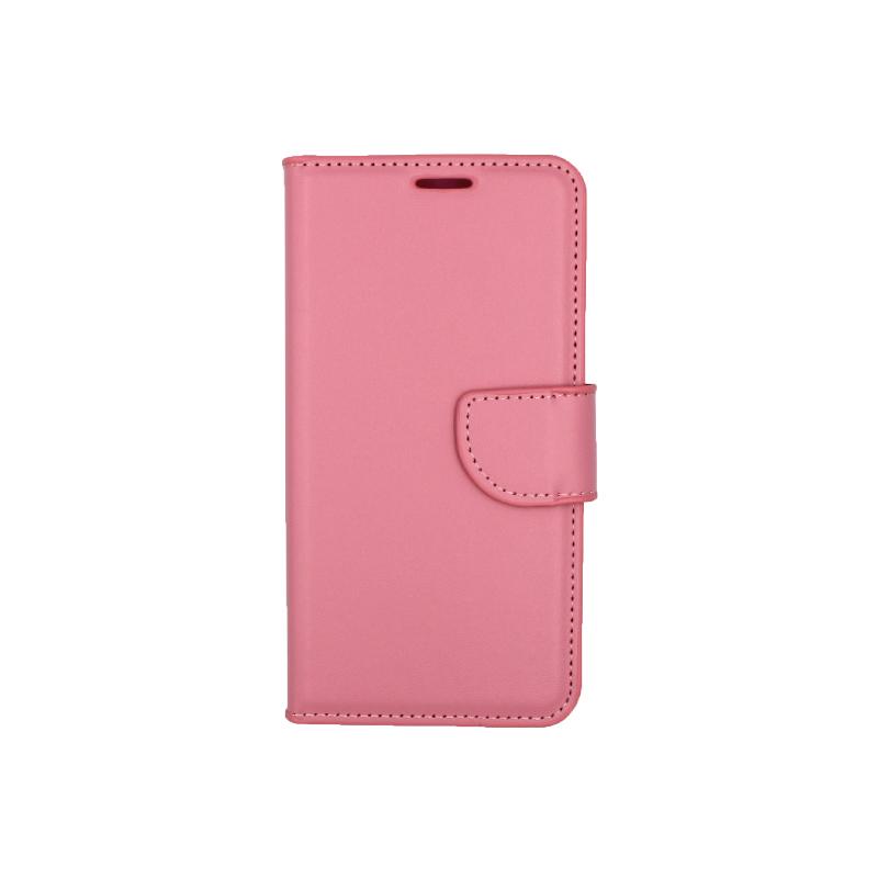 Θήκη Samsung Galaxy S6 πορτοφόλι ροζ 1
