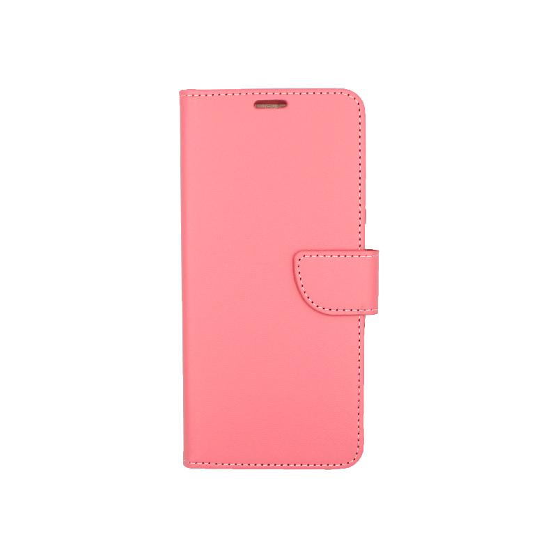 Θήκη Samsung A81 / Note 10 Lite Wallet ροζ 1