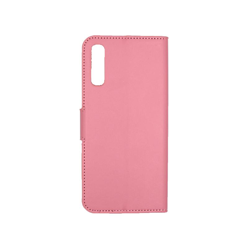Θήκη Samsung Galaxy A70 / Α70S Wallet ροζ 2