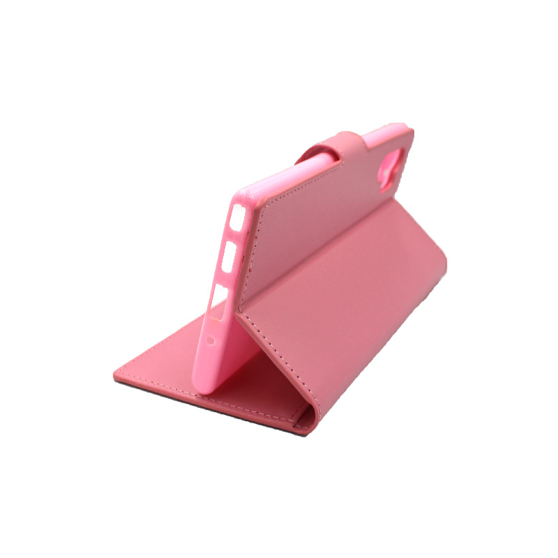 Θήκη Samsung Galaxy Note 10 Plus πορτοφόλι ροζ 4