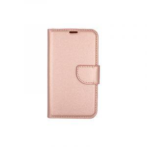 Θήκη Samsung Galaxy S5 πορτοφόλι ροζ χρυσό 1