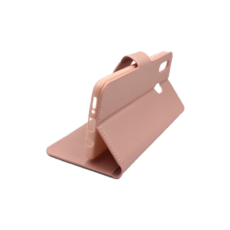 Θήκη Samsung Galaxy A20 / Α30 Wallet ροζ χρυσό 4