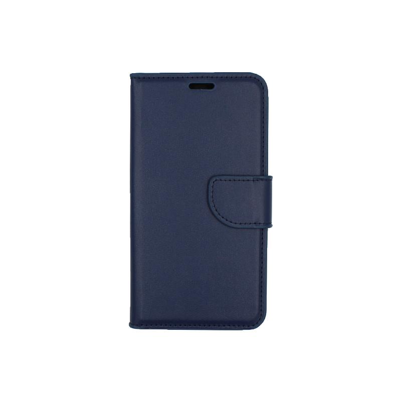 Θήκη Samsung Galaxy J5 2016 πορτοφόλι σκούρο μπλε 1