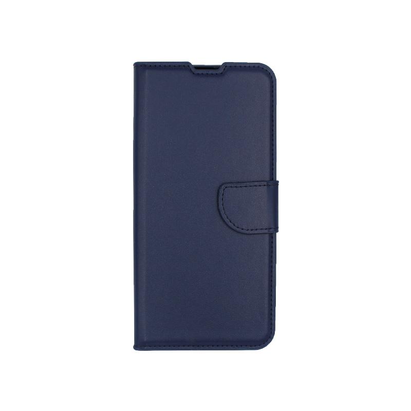 Θήκη Samsung Galaxy A70 / Α70S Wallet μπλε 1