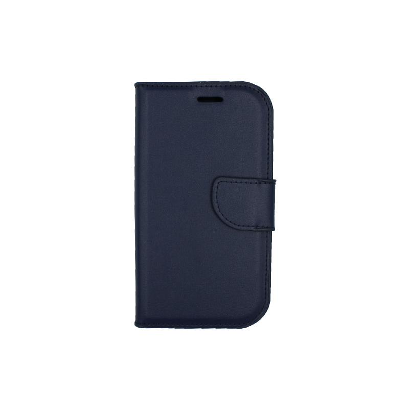 Θήκη Samsung Galaxy S3 πορτοφόλι σκούρο μπλε 1