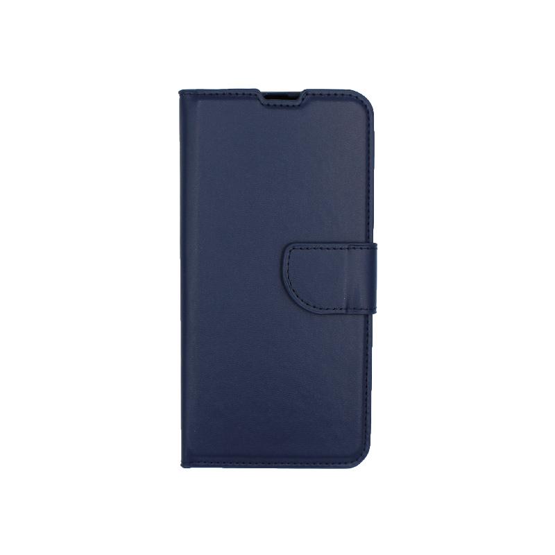 Θήκη Samsung Galaxy A20 / Α30 Wallet σκούρο μπλε 1