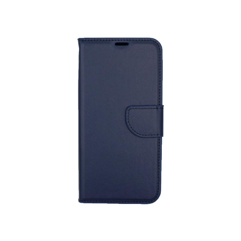 Θήκη Samsung Galaxy M20 Wallet σκούρο μπλε 1