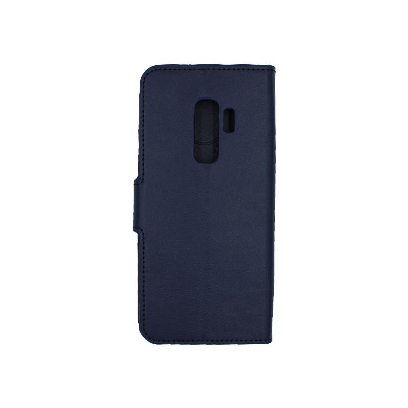Θήκη Samsung Galaxy S9 Plus πορτοφόλι μπλε 2