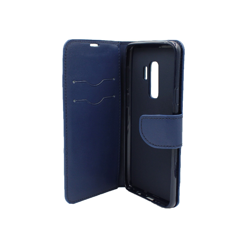 Θήκη Samsung Galaxy S9 Plus πορτοφόλι μπλε 3