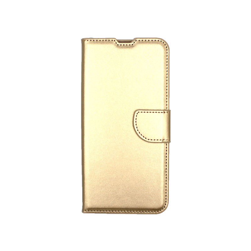 Θήκη Samsung Galaxy M31 Wallet χρυσό 1