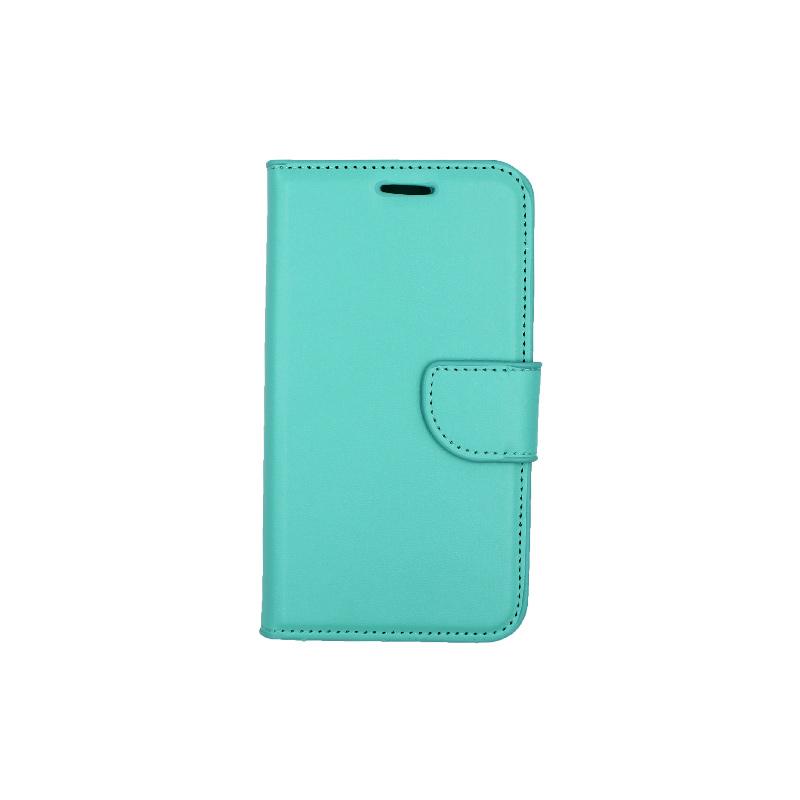Θήκη Samsung Galaxy J5 πορτοφόλι σκούρο τιρκουάζ 1