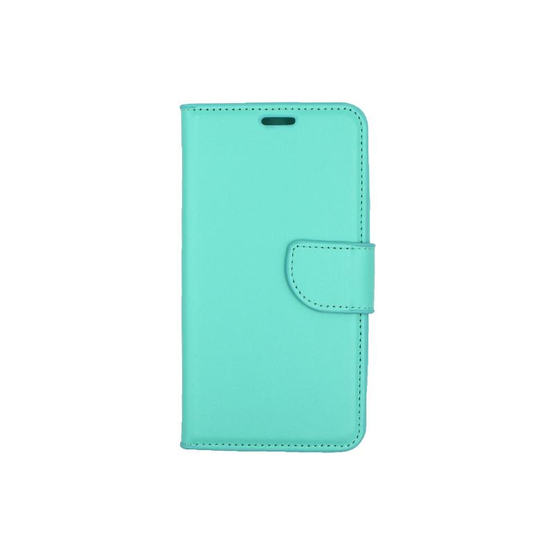 Θήκη Samsung Galaxy J5 2016 πορτοφόλι τιρκουάζ 1