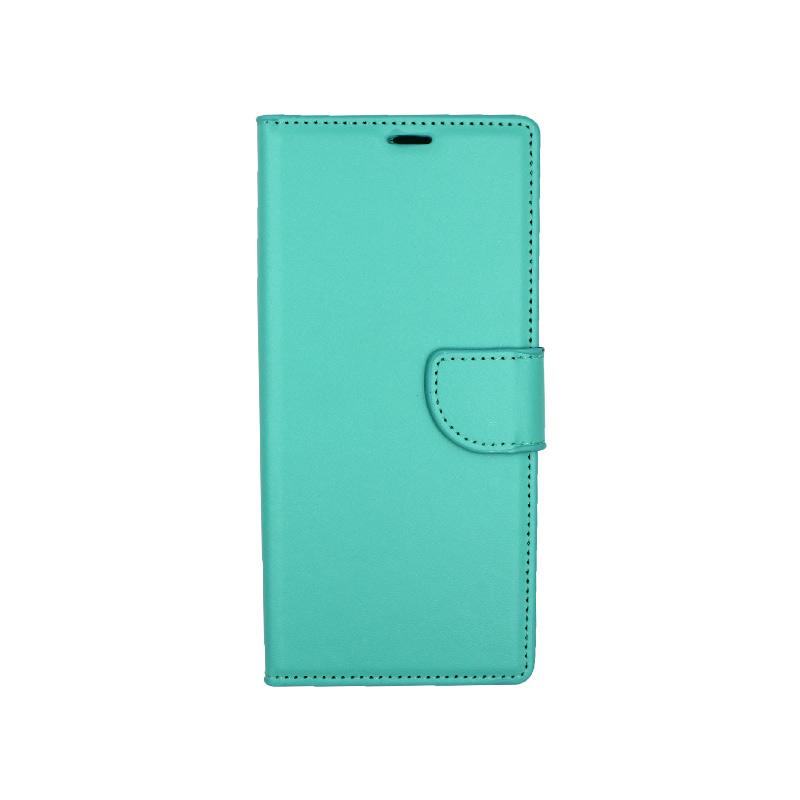 Θήκη Samsung Galaxy Note 8 πορτοφόλι τιρκουάζ 1