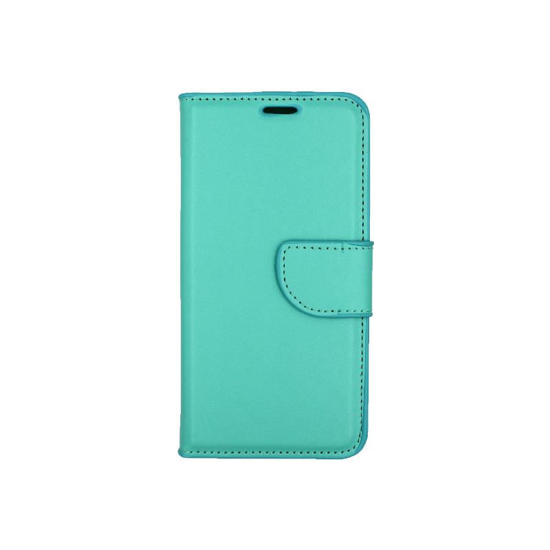 Θήκη Samsung Galaxy S7 πορτοφόλι τιρκουάζ 1