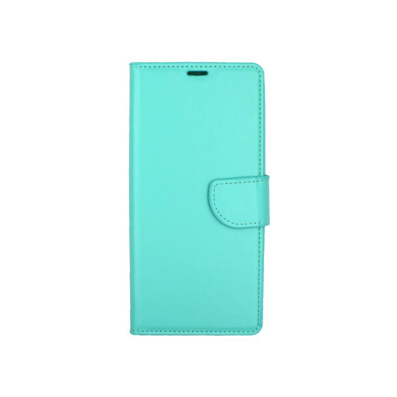 Θήκη Samsung Galaxy Note 9 πορτοφόλι τιρκουάζ 1