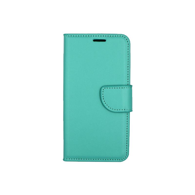 Θήκη Samsung Galaxy S6 Edge πορτοφόλι τιρκουάζ 1