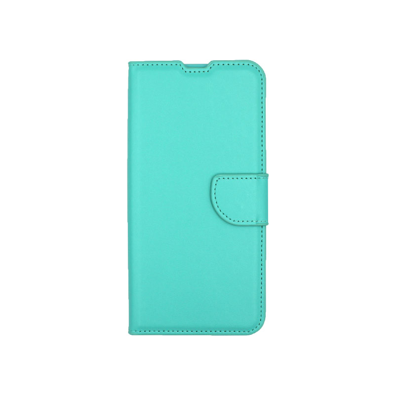 Θήκη Samsung Galaxy M31 Wallet τιρκουάζ 1