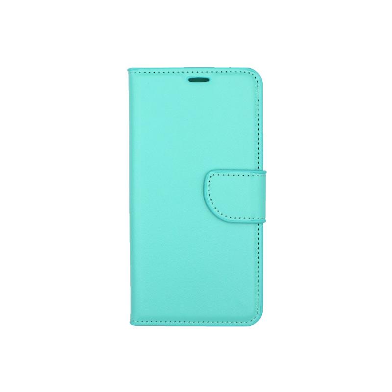 Θήκη Samsung Galaxy Α6 Wallet τιρκουάζ 1