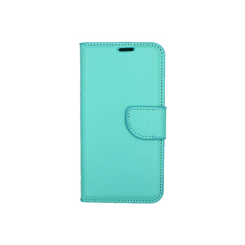 Θήκη Samsung Galaxy Α5 2017 Wallet τιρκουάζ 1
