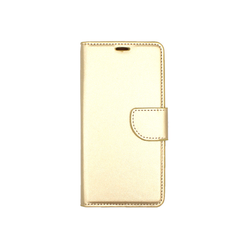 Θήκη Samsung Galaxy Α5 / Α8 2017 Wallet χρυσό 1