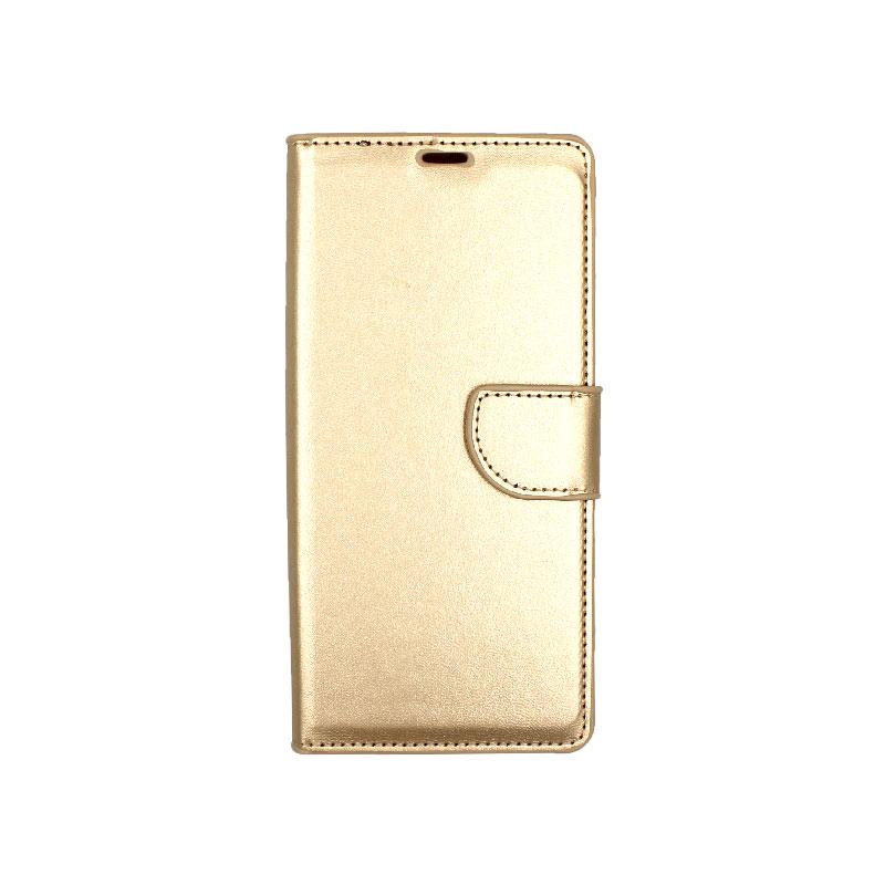 Θήκη Samsung Galaxy Note 9 πορτοφόλι χρυσό 1