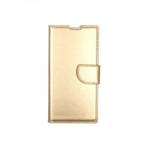 Θήκη Samsung Galaxy Note 10 πορτοφόλι χρυσό 1