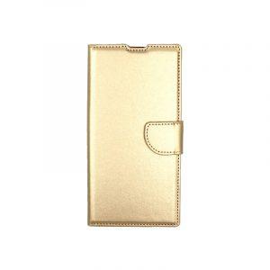 Θήκη Samsung Galaxy Note 10 Plus πορτοφόλι χρυσό 1