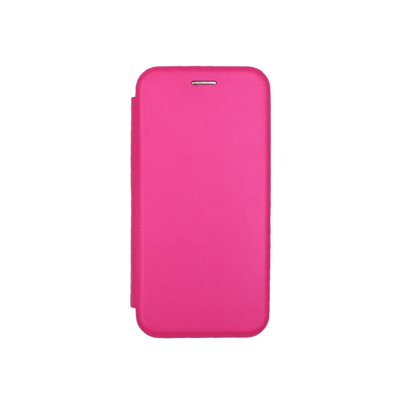 Θήκη Samsung Galaxy A6 Πορτοφόλι με Μαγνητικό Κλείσιμο φουξ 1