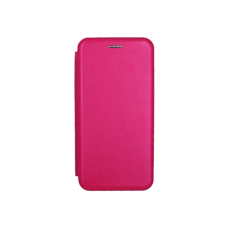 Θήκη Samsung Galaxy J6 Πορτοφόλι με Μαγνητικό Κλείσιμο φούξ 1