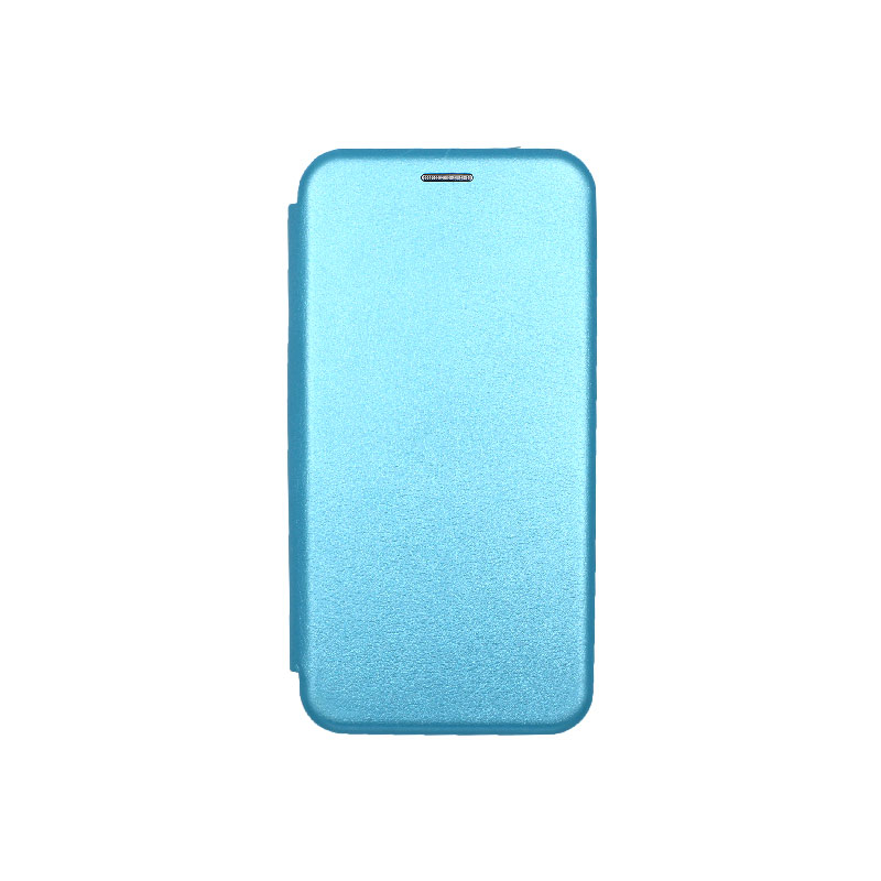 Θήκη Samsung Galaxy A7 2018 Πορτοφόλι με Μαγνητικό Κλείσιμο γαλάζιο 1