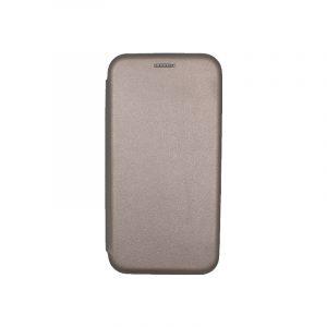 Θήκη Samsung Galaxy J2 Pro Πορτοφόλι με Μαγνητικό Κλείσιμο γκρι 1