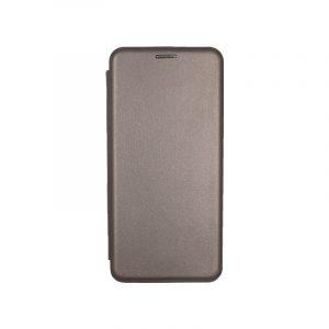 Θήκη Samsung Galaxy Note 10 Plus Πορτοφόλι με Μαγνητικό Κλείσιμο γκρι 1