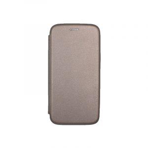 Θήκη Samsung Galaxy A6 Πορτοφόλι με Μαγνητικό Κλείσιμο γκρι 1