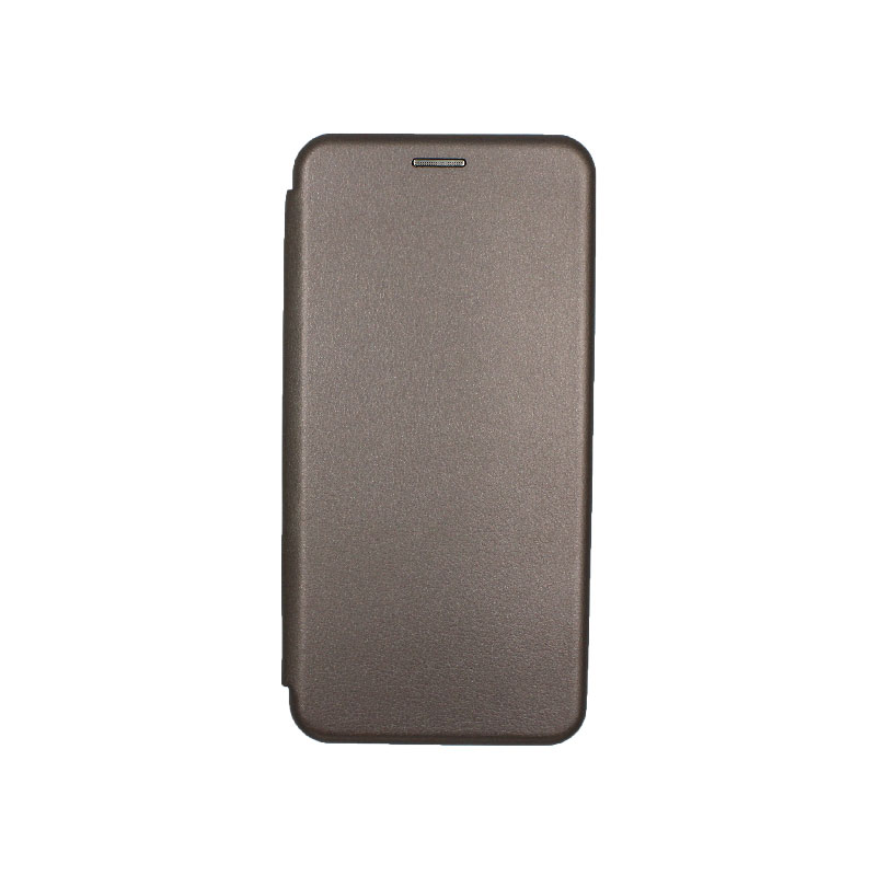 Θήκη Samsung Galaxy J6 Plus Πορτοφόλι με Μαγνητικό Κλείσιμο γκρι 1