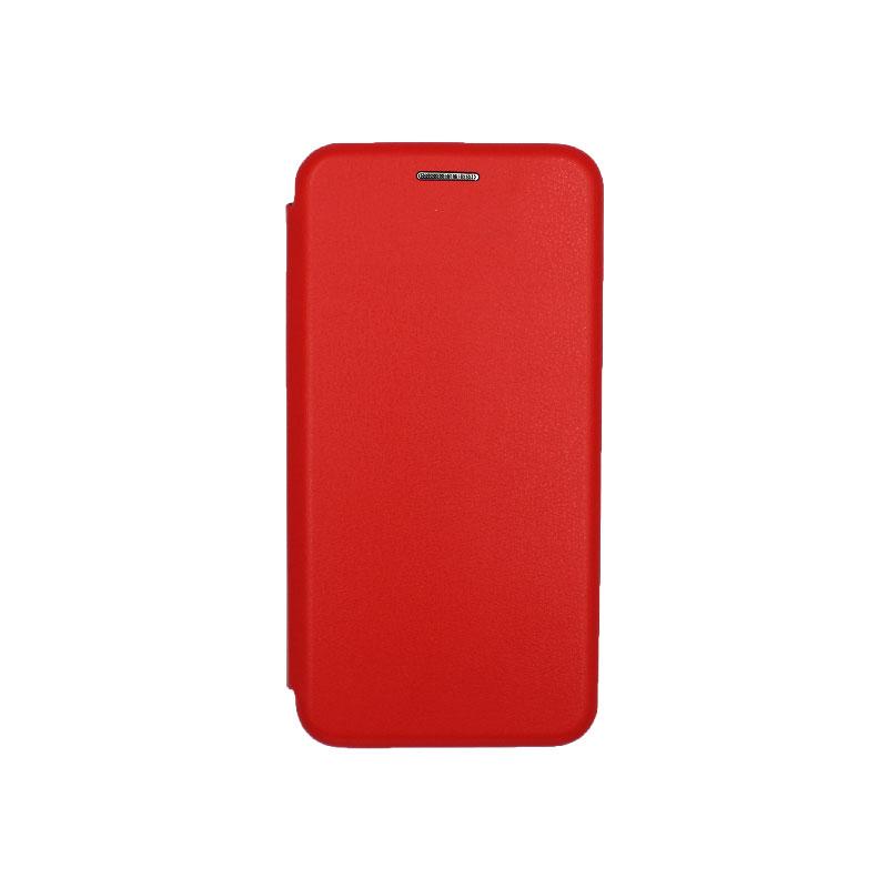 Θήκη Samsung Galaxy A5 2017 Πορτοφόλι με Μαγνητικό Κλείσιμο κόκκινο 1