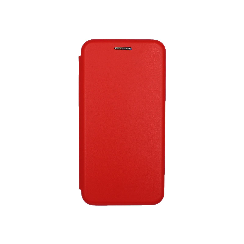 Θήκη Samsung Galaxy A3 2016 Πορτοφόλι με Μαγνητικό Κλείσιμο κόκκινο 1