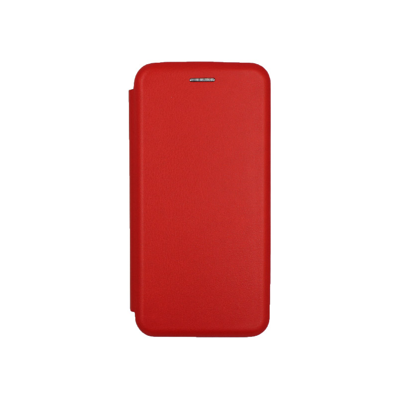 Θήκη Samsung Galaxy J6 Πορτοφόλι με Μαγνητικό Κλείσιμο κόκκινο 1