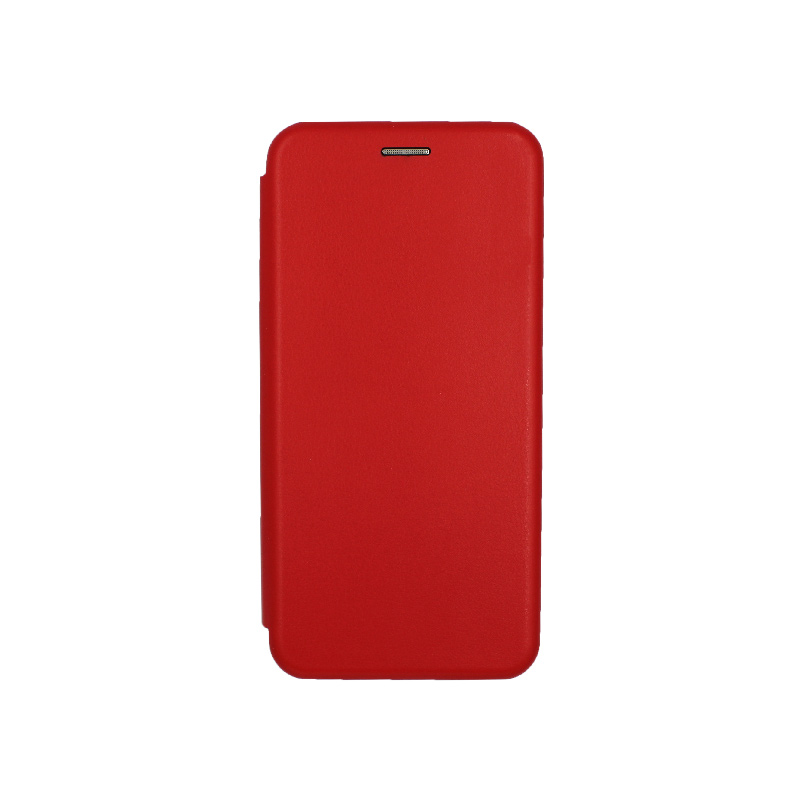 Θήκη Samsung Galaxy J4 Plus Πορτοφόλι με Μαγνητικό Κλείσιμο κόκκινο 1