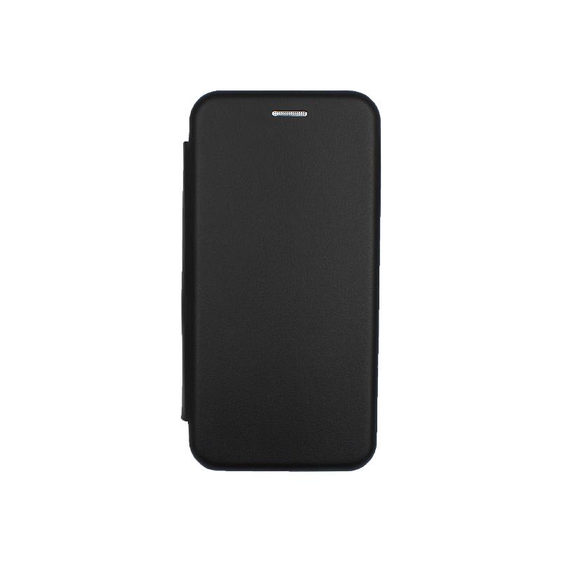 Θήκη Samsung Galaxy A10e / A20e Πορτοφόλι με Μαγνητικό Κλείσιμο μαύρο 1