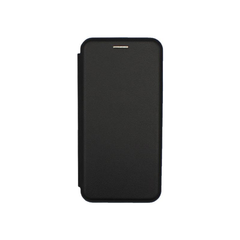 Θήκη Samsung Galaxy A6 Πορτοφόλι με Μαγνητικό Κλείσιμο μαύρο 1